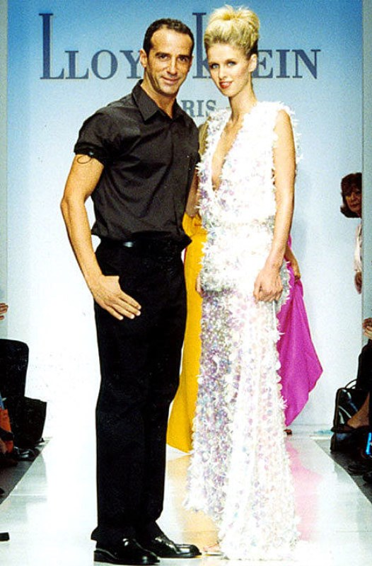 Nicky Hilton and Lloyd Klein