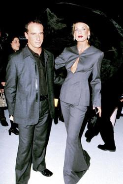 Lloyd Klein with Nina