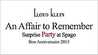 link to the article about Fashion Designer Lloyd Klein's Surprise Birthday Party at Spago