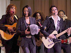 Sheila E. with Wendy and Lisa