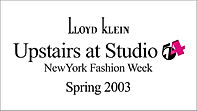 Lloyd Klein Spring Summer 2003 - Upstairs at Studio 54 Theme