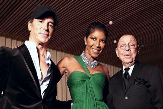 Lloyd Klein, Natalie Cole and James Galanos