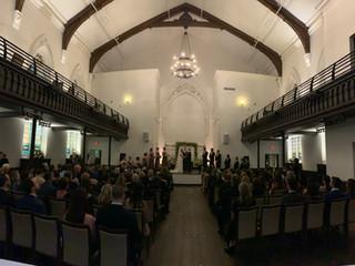 Julie & Kyle's Wedding at the Transept