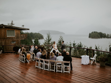 West Coast Wilderness Lodge Intimate Wedding