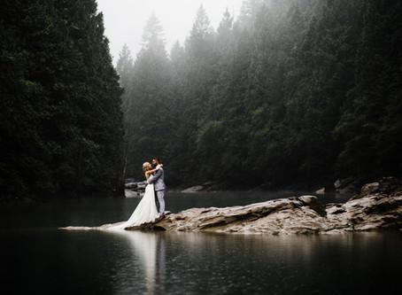 Jessica & Josh's Romantic Forest Elopement