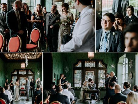 Intimate Hycroft Wedding