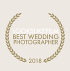 Lookslikefilm award, best wedding photographer vancouver