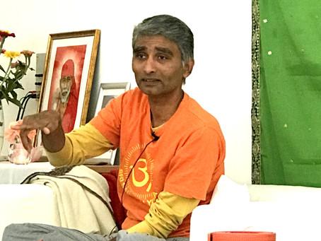 Das hat Freude gemacht: Yoga mit Master Sai und Acharya Winfried