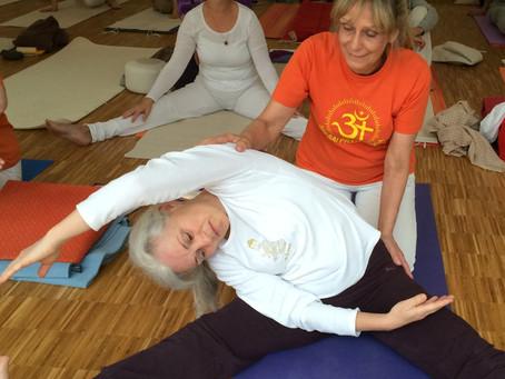 """Ausbildung 2016 auf Rineck- Retreat mit Acharya Sasidhar August 2016, Master Sai mit """"Yoga for"""