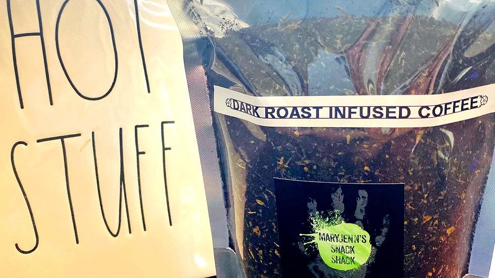 Dark Roast Infused Coffee Half Pound