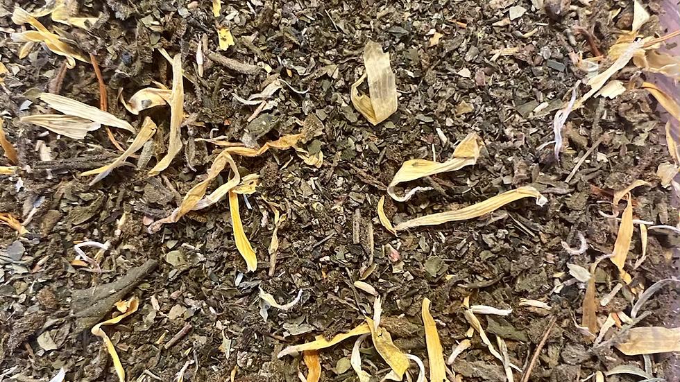 Infused 🚨 Green Tea with Calendula Flower