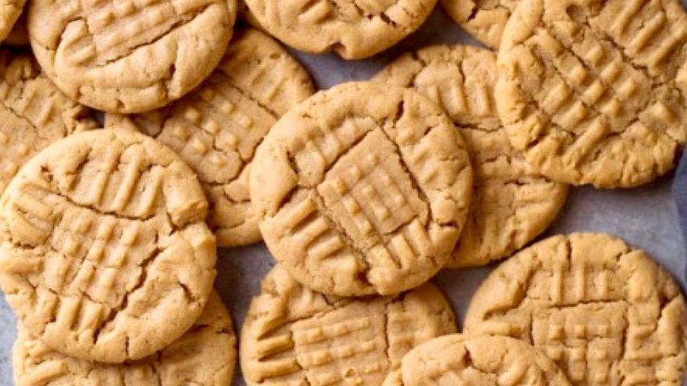 Dozen Peanut Butter Cookies