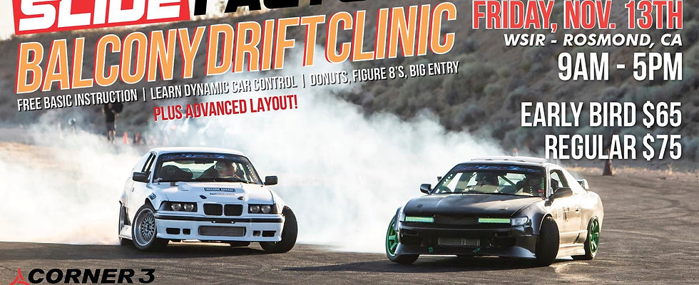 WSIR Balcony Drift Clinic