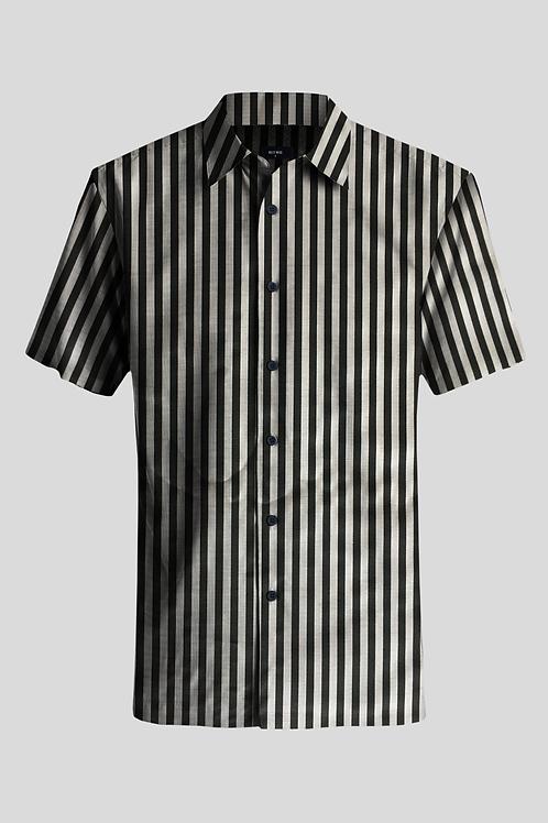Short Sleeve Shirt Stripes