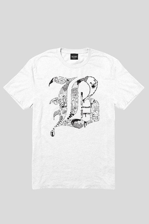 Short Sleeve B Minus T-shirt White