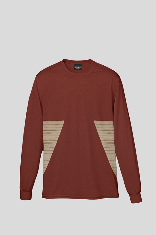 Wise Fluted Long Sleeve T-shirt
