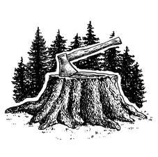 Axe & Stump
