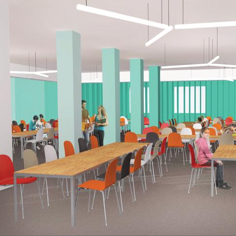 School canteen concept