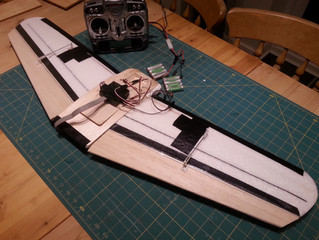 Split elevon & clamshell airbrakes with differential airbrake rudder...