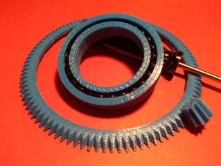 3D Printed Bearings and Bevel gears...