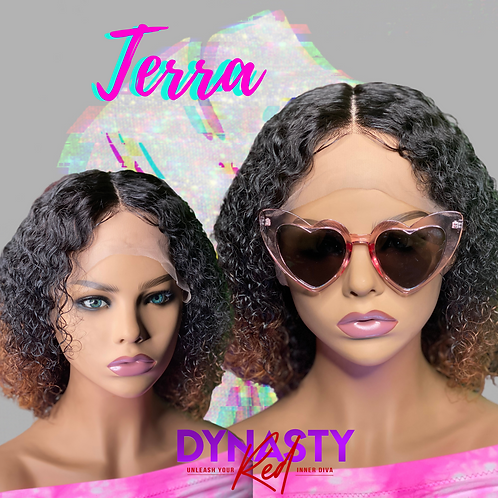 terra 12' lace front wig