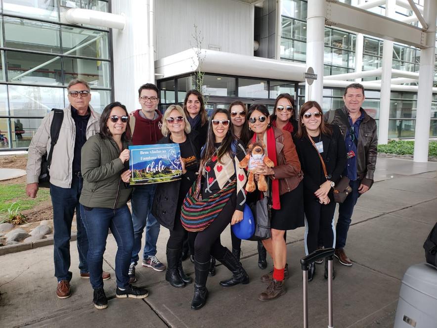 Cruce Andino e Hotel Termas de Puyehue realizam famtour organizado pelo seu representante João Araúj