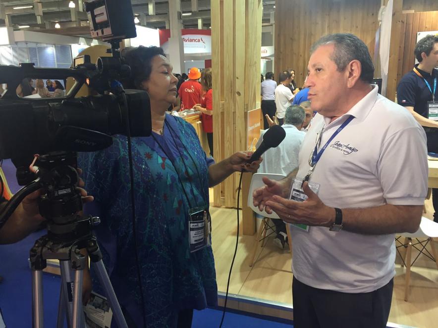 João Araújo comenta sobre a Expo ABAV 2016 e a demanda do Turismo internacional.