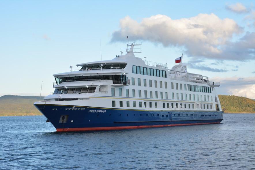 Cresce a frota de Cruzeiros Australis: no dia 02 de janeiro de 2018, o Ventus Australis realiza a su