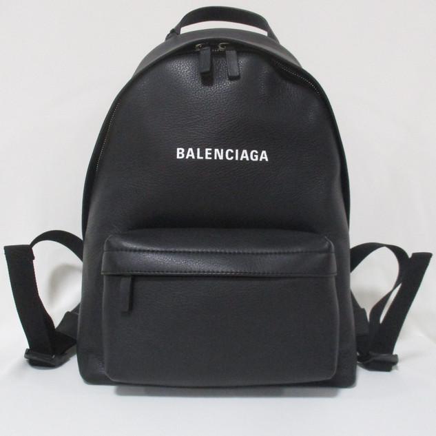 バレンシアガ(BALENCIAGA) レディース 鞄 バッグ バックパック リュック ロゴ ユニセックス可 BALENCIAGAロゴ入りミニバックパック ブラック 552379 DLQ4N 1000