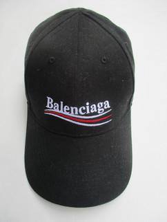バレンシアガ(BALENCIAGA) メンズ 帽子 キャップ ロゴ ユニセックス可 BALENCIAGAキャンペーンロゴ刺繍入りキャップ サイズ調整可能 ブラック 561018 410B2 1077