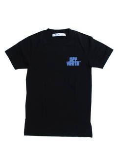 オフホワイト(OFF-WHITE) メンズ トップス Tシャツ 半袖 ロゴ 2color チェスト部分OFFWHITEロゴ・バックマルチロゴプリント付Tシャツ 白/黒 OMAA027R 21JER005 0140/1040 (R39600)