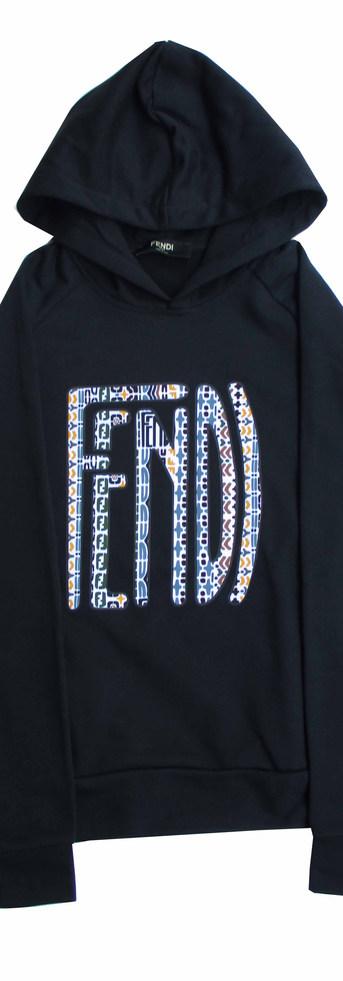 フェンディ(FENDI) メンズ トップス パーカー フーディー 2color ※パーカーの色によってFENDIロゴの柄が異なります。 マルチ柄FENDIロゴプリント付パーカー FAF595 AE8I F0ZNM/F0GME (R108900)