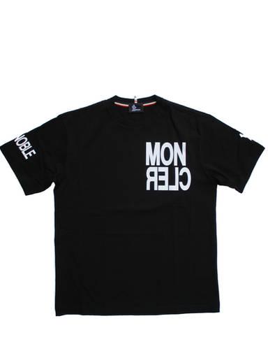 モンクレールグルノーブル(MONCLER GRENOBLE) メンズ トップス Tシャツ 半袖 ロゴ 2color MONCLERマルチラバーロゴ・#GRENOBLEラバーロゴ付きTシャツ 白/黒 8C70520 8390T 034/999