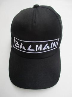 バルマン(BALMAIN) メンズ 帽子 キャップ ロゴ ユニセックス可 サイズ調節可 BALMAIN刺繍ロゴ入りキャップ ブラック SH1A044 Z520 0PA