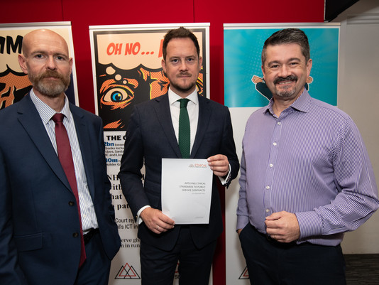 ECS launch policy with Stephen Morgan MP Shadow Minister for Local Government (Communities)