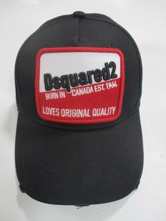 メンズ 帽子 キャップ ユニセックス可 パッチ・刺繍ロゴ・ダメージ加工入りベースボールキャップ ブラック BCM0276 05C00001 2124