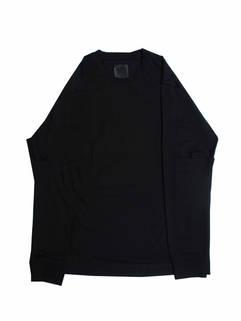 ジバンシー(GIVENCHY) メンズ トップス ロンT 長袖 ロゴ シンプルデザイン・エルボーポケット付ロングTシャツ ブラック BM714G3 Y6B 001 (R80300)