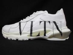 ヴァレンティノ VALENTINO メンズ 靴 スニーカー サイドVLTNロゴ・ソール/タン/後部VALENTINOロゴ入りスニーカー ホワイト バレンティノ バレンチノ ヴァレンチノ TY2S0B21 RKW A01