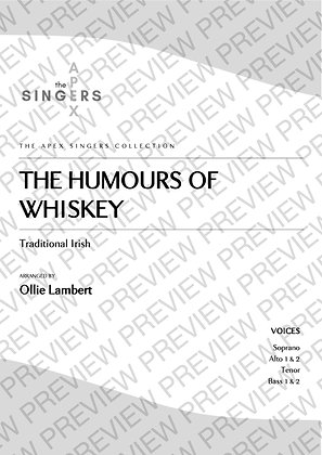The Humours of Whiskey [SAATBB]