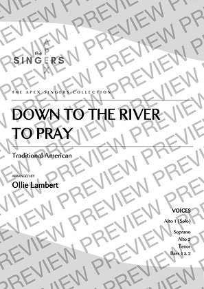 Down to the River to Pray [SAATBB]