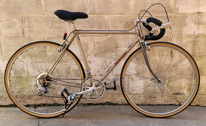 Mens vintage 1980s Nishiki 10 speed. Partially restored. 53cm