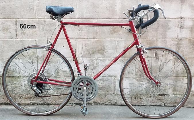 XL TALL Vintage 10 speed 1980 Schwinn currently unrestored. 66cm,6'4 and taller