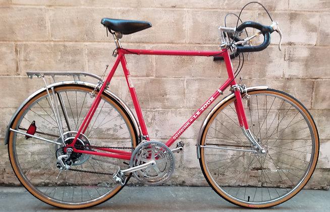 Restored 196410 speed mens Schwinn LeTour.   64cm, 6'2 and taller.