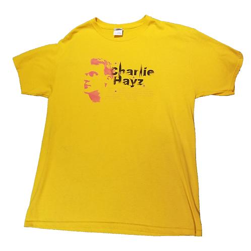 Charlie Hayz Logo T-Shirt GOLD