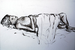 Life Drawing (2011) - Ink on paper