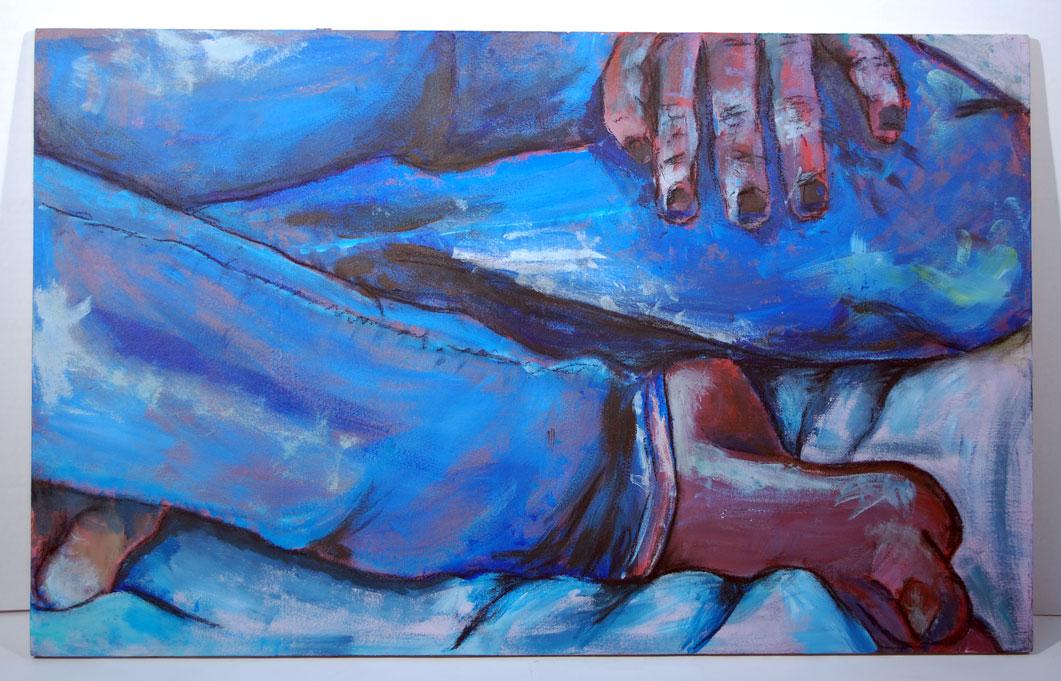 Life Drawing (2012) - Acrylic on wood