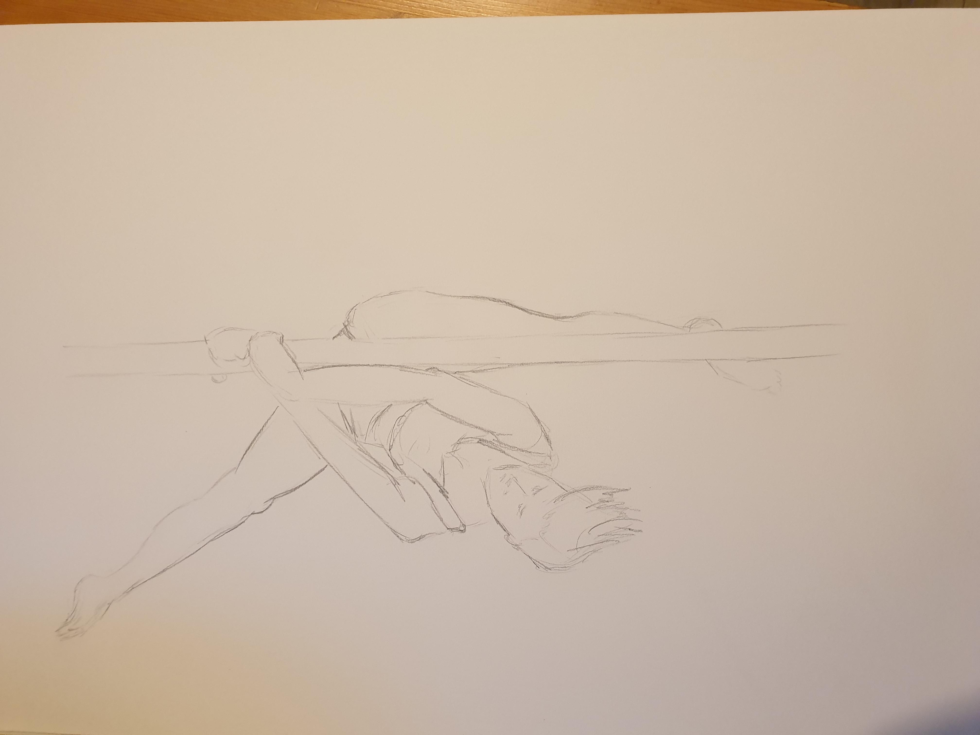 Life Drawing (2020) - Pencil
