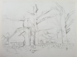 Arbroath (2013) - Pencil on Card