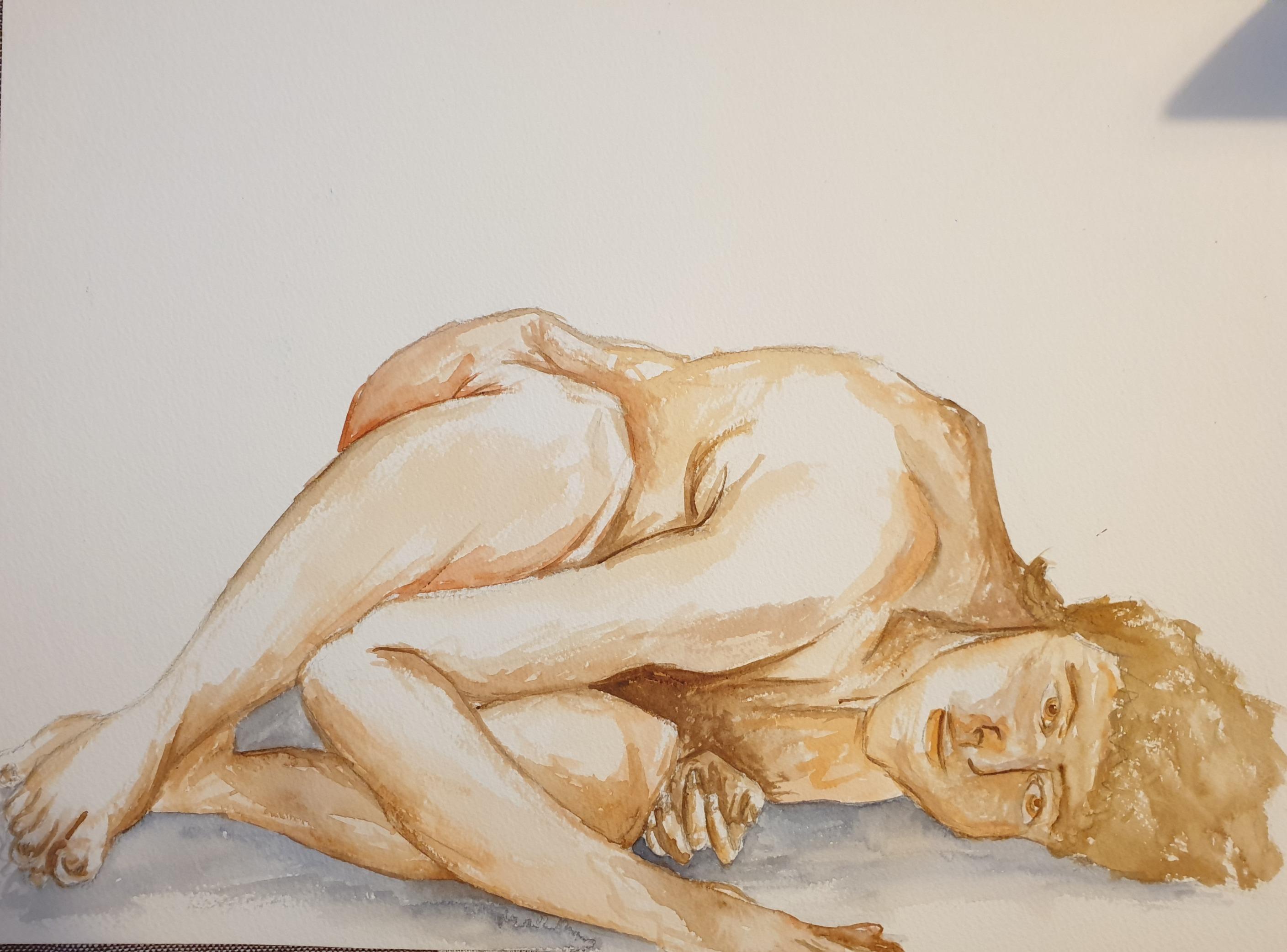 Life Drawing (2020) - Watercolour