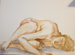 Life Drawing (2020) - Watercolour